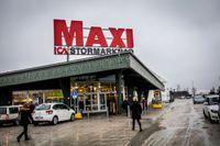 Ica Maxi i Visby.
