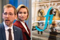 Jakob Forssmed och Ebba Busch Thor.