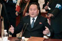 Nordkoreas utrikesminister Ri Son-Gwon. Arkivbild