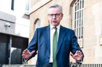 Brittiske kansliministern Michael Gove. Arkivbild.