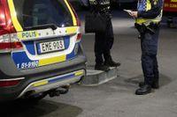 Polisen har spärrat av en plats i Kristianstad. Arkivbild.