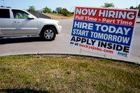 Färre nyanmälda som arbetslösa i USA förra veckan. Arkivbild