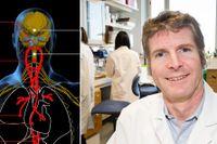 Peder Olofsson, som kartlägger signalerna i vagusnerven, är optimistisk och hoppas att vården kommer att kunna behandla kronisk inflammation med nervstimulering inom 5–7 år.