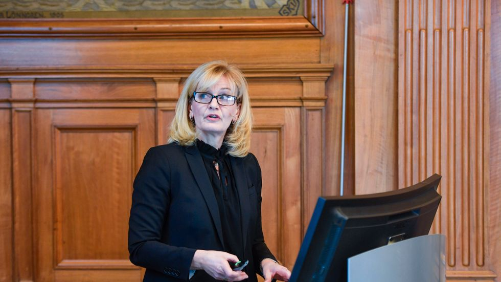 Handelsbankens vd Carina Åkerström.