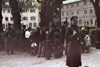 Deportation av romer, i Asperg, Tyskland, 22/5 1940.