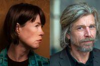 Linda Boström Knausgård och Karl Ove Knausgård.