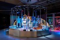 Utställningen Robots lockar rekordmånga till Tekniska museet i Stockholm. Pressbild.