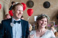 Paret Leoni och Felix Brinkman gifte sig i Stockholms stadshus i juni.