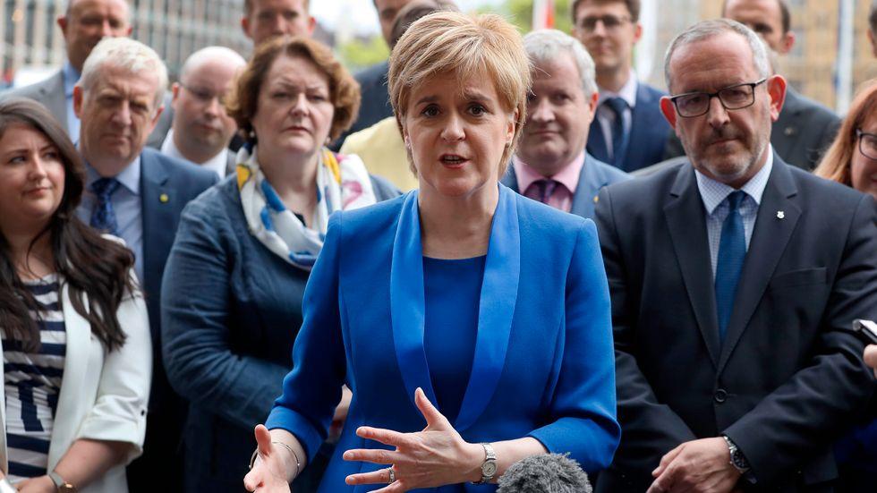 En ny folkomröstning bör hållas i Skottland inom två år, anser den lokala regeringschefen Nicola Sturgeon. Arkivbild.