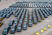 Färre bilar från Tyskland, enligt både bilindustrin och återförsäljarna. Arkivbild.