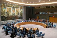 FN:s säkerhetsråd under ett möte i november 2019. Arkivbild.