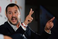 Italiens inrikesminister Matteo Salvini