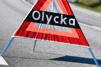 Tre mc-förare var inblandade i en mc-olycka på riksväg 84 nära Sveg. Arkivbild.