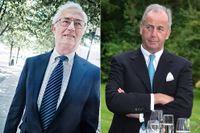 SCA:s ordförande Sverker Martin-Löf och den österrikiske affärsmannen Alfred Heinzel.