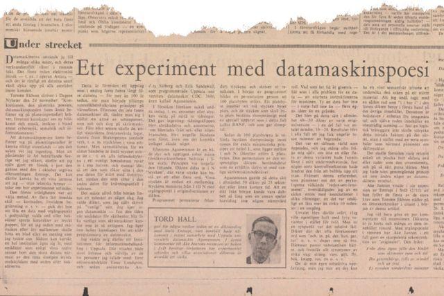 Denna artikel var införd i SvD den 15 december 1966.