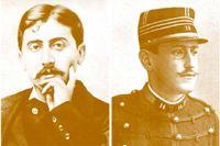 Marcel Proust och Alfred Dreyfus.