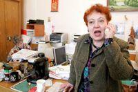 """""""Jag har varit med om åtta krig, men jag har aldrig sett något liknande"""", säger Valentina Melnikova, Soldatmödrarnas ordförande i Moskva."""