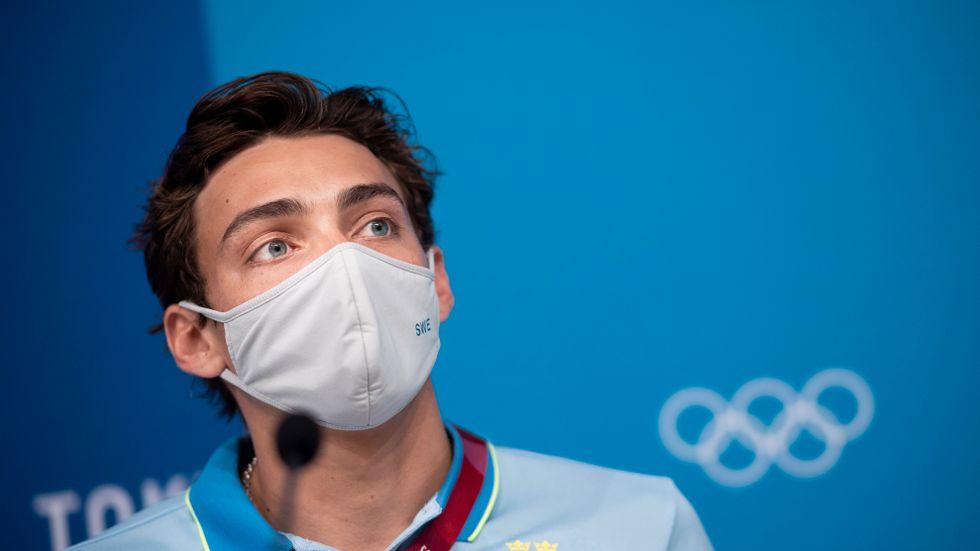 Armand Duplantis är, tillsammans med Daniel Ståhl, största svenska guldhoppet i OS.