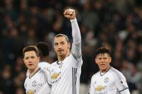 Zlatan Ibrahimovic bänkas mot Reading.