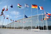 Nato-högkvarteret i Bryssel.