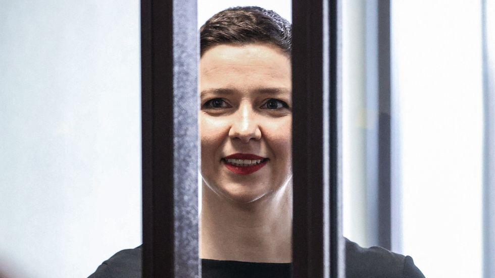 Maria Kolesnikova riskerar tolv års fängelse för sitt kampanjande mot regimen i Belarus.