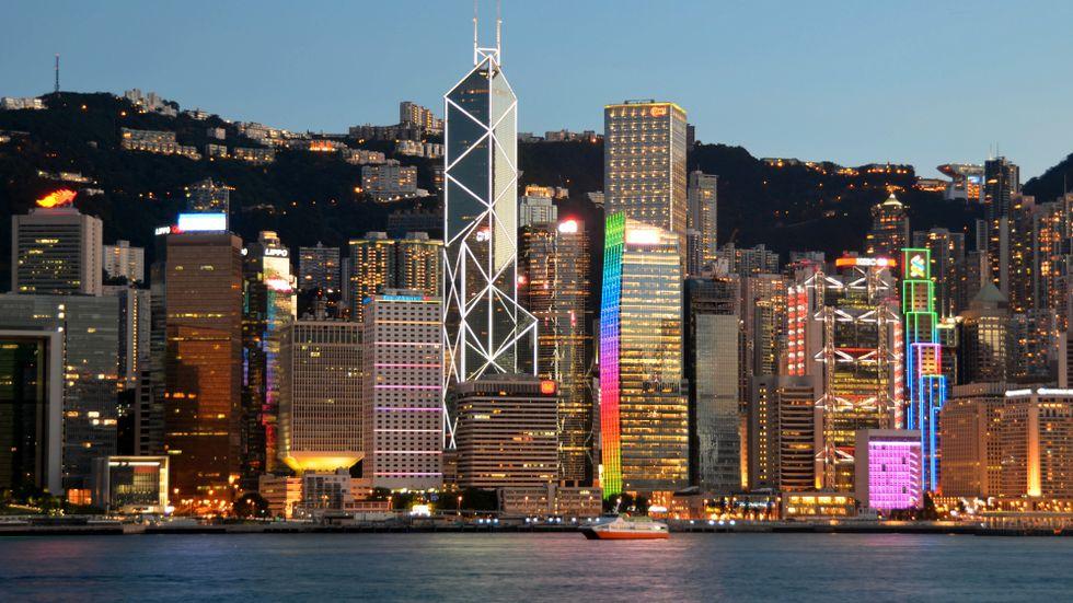 Hongkong. En bild av vad ekonomisk frihet gör möjligt.