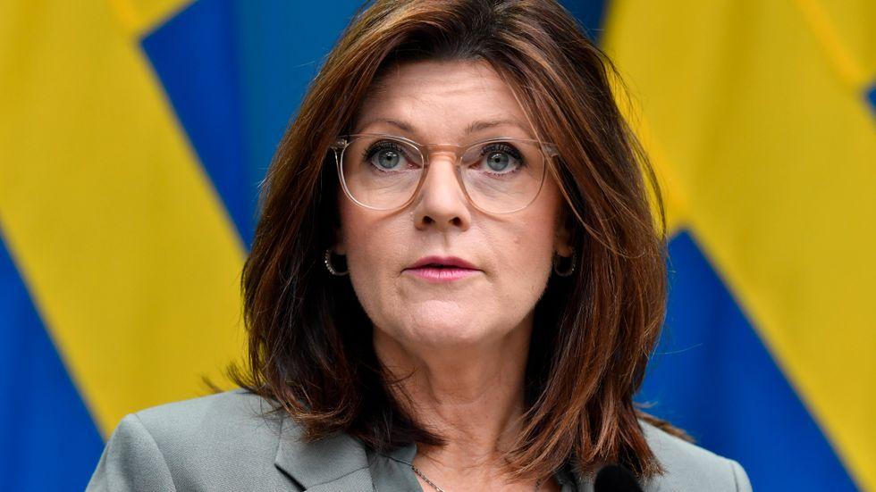 Arbetsmarknadsminister Eva Nordmark (S).