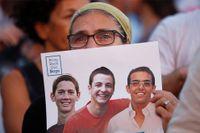 De tre israeliska tonåringarna hittades döda på måndagkvällen.