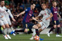 Barcelona-stjärnan Sergio Busquets bad om ursäkt efter genomklappningen mot Liverpool.