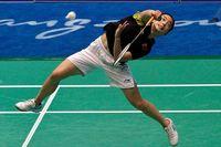 Det internationella badmintonförbundet inför kjoltvång för att öka intresset för de allra största damtävlingarna. Här ses kinesiskan Shixian Wang – i shorts.