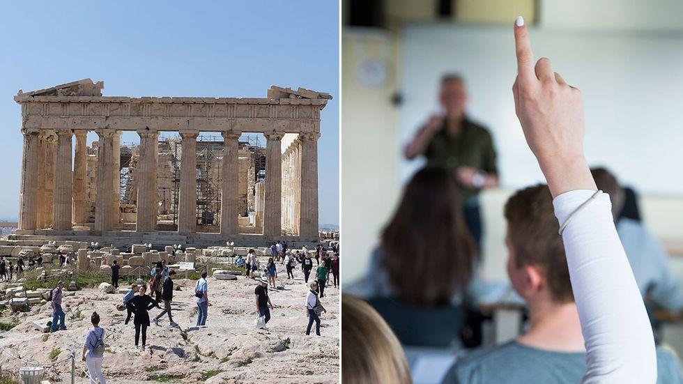 Skolverket tar tillbaka förslaget på en ny kursplan där antiken tas bort.