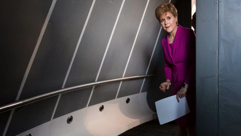 Skottlands försteminister Nicola Sturgeon. Arkivbild.