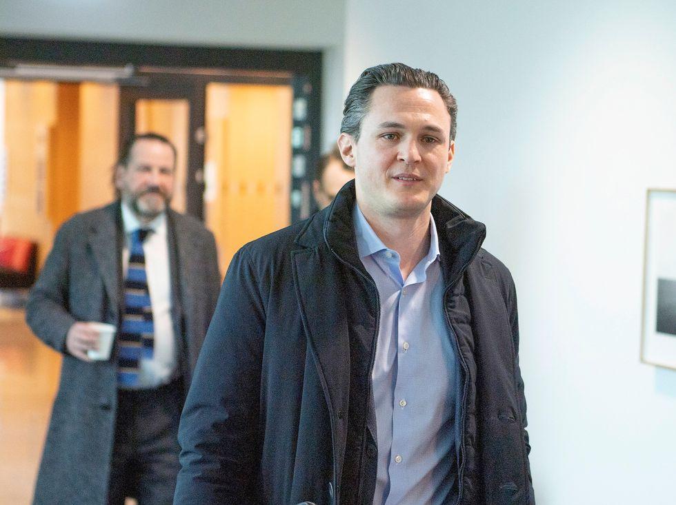 """""""Det känns fruktansvärt och omtumlande"""", säger den före detta vd:n Alexander Ernstberger till TV4 om domen."""