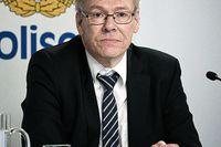 Chefsåklagare Krister Petersson höll pressträff om Palmeutredningen den 10 juni.