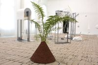 """Katja Pettersson, """"Welcome back"""", installationsvy."""