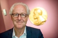 Lars Heikensten, vd på Nobelstiftelsen.