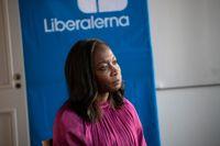 Liberalernas partiledare Nyamko Sabuni har lågt stöd. Arkivbild.