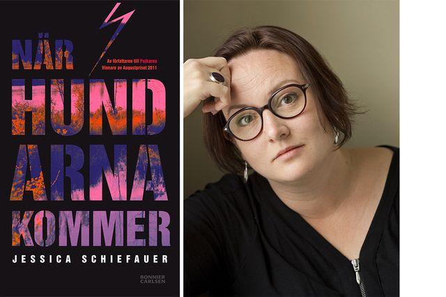 """Jessica Schiefauers Augustprisade """"När hundarna kommer"""" är inspirerad av mordet på 14-årige John Hron år 1995."""