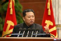 Nordkoreas diktator Kim Jong-Un. Bilden är från förra veckan.