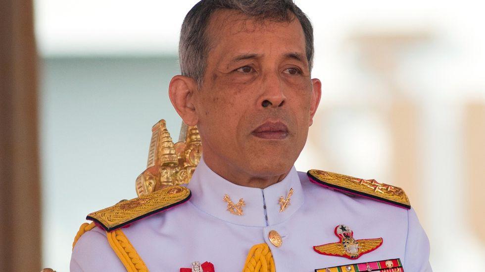 Thailands kung Maha Vajiralongkorn. Arkivbild.