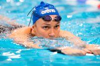 Sarah Sjöström, ett av Sveriges OS-hopp. Arkivbild.