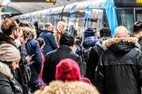 Resenärer med Stockholms Lokaltrafik har haft jobbiga dagar till följd av snöfallet.