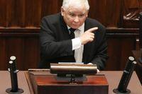 Jaroslaw Kaczynski leder det polska regeringspartiet Lag och rättvisa som i flera år tvistat med EU om en rad domstolsreformer i Polen. Arkivfoto.