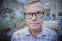 Arbetet med de dödssjuka covidpatienterna fick ingenjören Michael Holm, 58, att omvärdera livet. SvD har fått läsa hans dagbok.