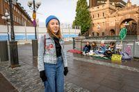 Livia har demonstrerat för klimatet med Fridays for future och fixade en egen strejk på sitt lantställe.