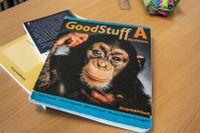 Läroböcker i engelska för grundskolan.