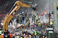 Räddningsarbetet i Mexiko fortsätter.
