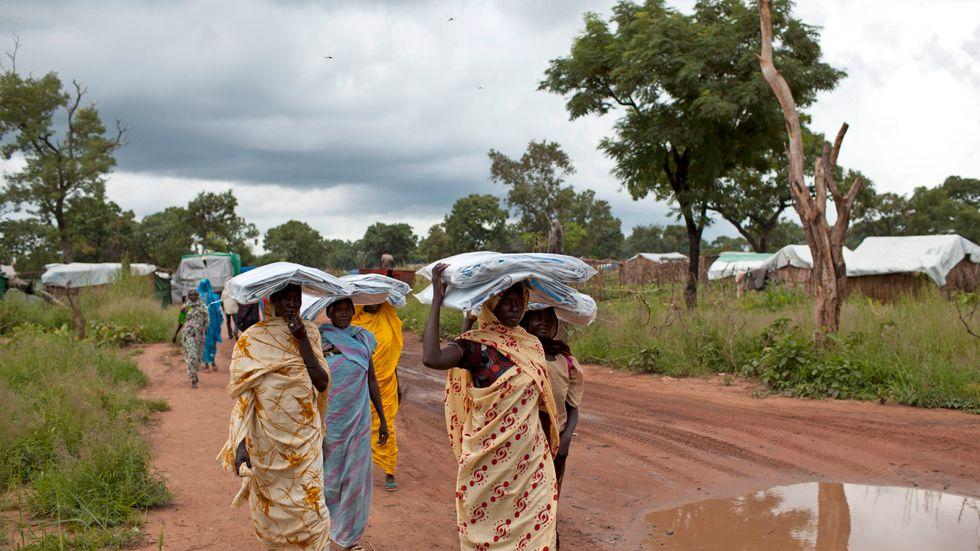 Sydsudan har drabbats av stora översvämningar som förvärrar den humanitära krisen i det redan fattiga landet, larmar FN. Arkivbild