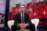 Femstjärnerörelsens Luigi Di Maio.