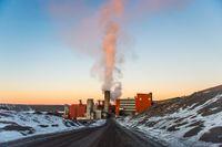 Översiktsbild över gruvan i Kiruna. Artikelförfattaren skriver att statens övergripande ansvar för gruvpolitiken måste stärkas.